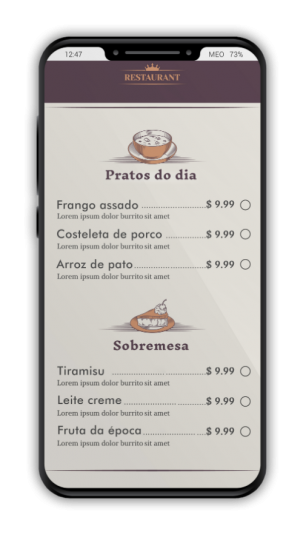 ZeroContact - Digital Menu by QRCode 3