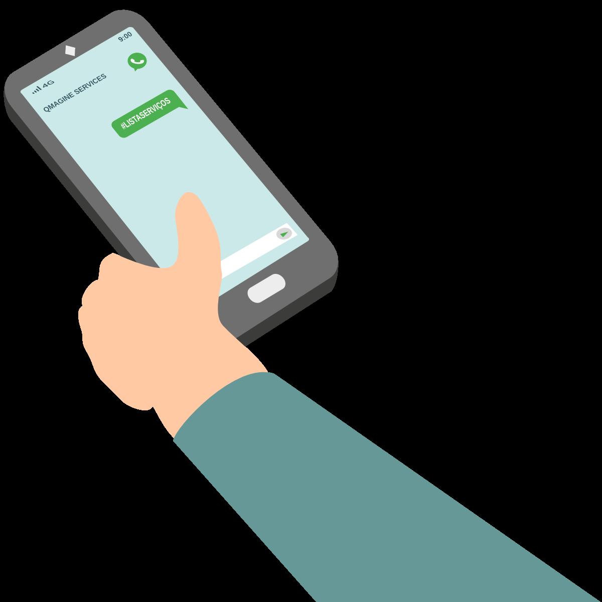 QMAGINE - Gestão de filas por whatsapp